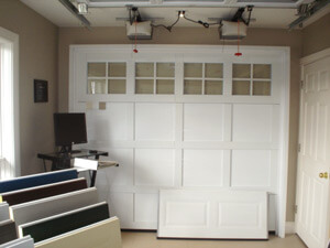 Showroom with a Garaga Cambridge CM door