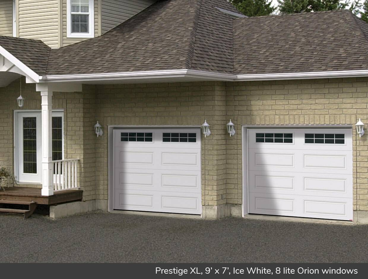 Prestige XL, 9' x 7', Ice White, Orion 8 lite windows
